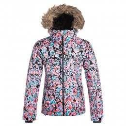Roxy Girls Jet Ski Snow Jacket Flowers
