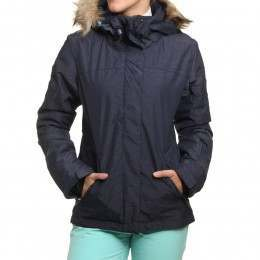 Roxy Jet Ski Solid Snow Jacket Peacoat