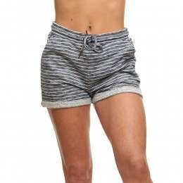 Roxy Trippin Track Shorts Marshmallow Stripe