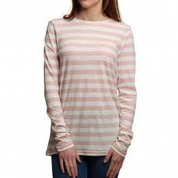 Roxy Zarauz Beat Long Sleeve Top Marshmallow