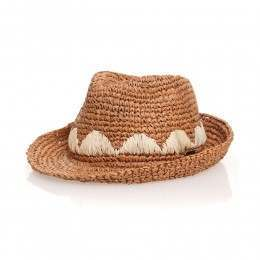 Roxy Witching Straw Hat Brown