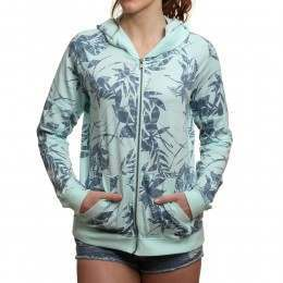 Roxy Dip Out Hoody Blue Floral