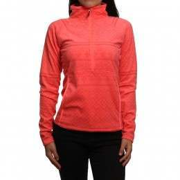 Roxy Cascade Fleece Neon Grapefruit