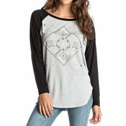 Roxy Naminori Long Sleeve Top Heritage Heather