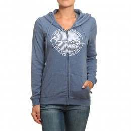 Roxy Stardust Song Z/Hoody China Blue Heather
