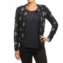 Roxy Discovering Twins Jacket Anthracite Tribal