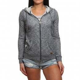 Roxy Trippin Stripe Z/Hoody Marshmallow Stripe