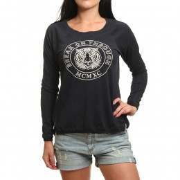 Roxy Cruzy Cruz L/S Top Anthracite