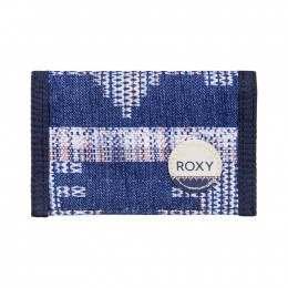 Roxy Small Beach Wallet Blue Print