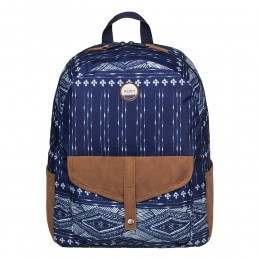 Roxy Carribean Backpack Blue Print
