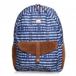 Roxy Carribean Backpack Blue Depths Olmeque Stripe