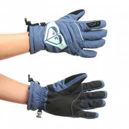 ROXY POPI SNOW GLOVES Ensign Blue