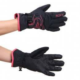 Roxy Popi Snow Gloves True Black