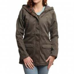 ROXY BE THERE JACKET Major Brown