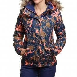 Roxy Jet Ski Snow Jacket Amazone Flowers