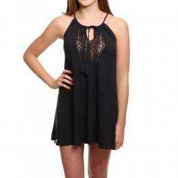 Roxy Black Water Dress Anthracite