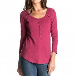 Roxy Here Today Long Sleeve Top Sangria