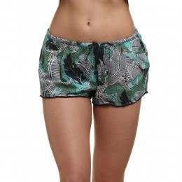 Roxy Mystic Topaz Printed Shorts Blue Depths