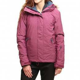 ROXY JET SKI TEXTURED SNOW JACKET Magenta