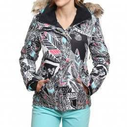 Roxy Jet Ski Snow Jacket Ha-Hui Black