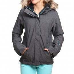 Roxy Jet Ski Textured Snow Jacket True Black