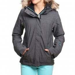 Roxy Jet Ski Textured Snow Jacket True Black