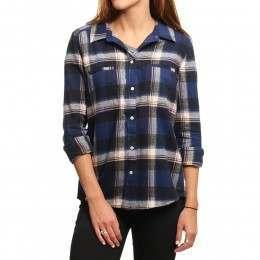 Roxy Campay Shirt Blue Print