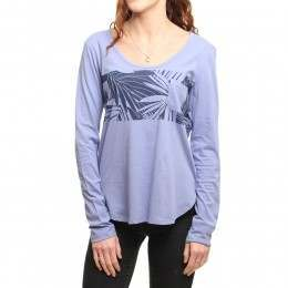 Roxy Pocket L/S Top Light Denim