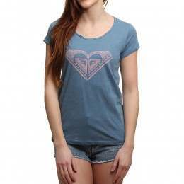 Roxy Touch Of Mex Tee Captains Blue