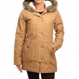 Roxy Mountain Song Jacket Tobacco Brown