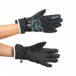 Roxy Poppy Snow Gloves True Black