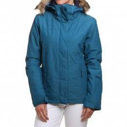 Roxy Jet Ski Solid Snow Jacket Ink Blue