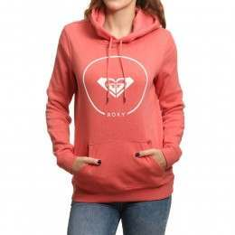 Roxy After Surf Hoody Spiced Coral Heather