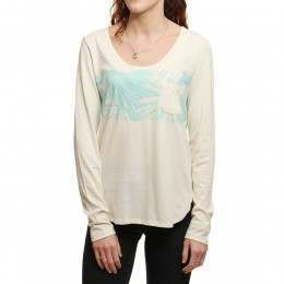 Roxy Pocket L/S Top Sea Spray