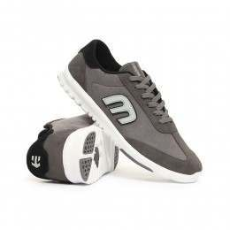 Etnies Lo-Cut SC Shoes Grey/Black/White