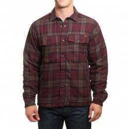 Billabong Barlow Rev Flannel Jacket Brown
