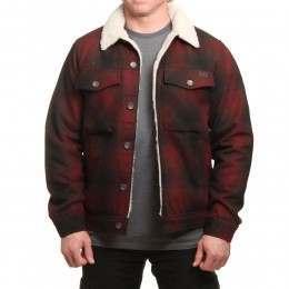 Billabong Barlow Wool Jacket Bark Red