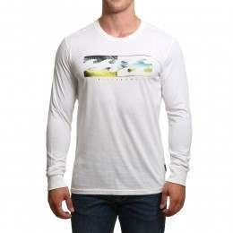 Billabong Inverse Long Sleeve Top White