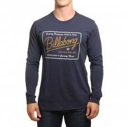 Billabong Baldwin Long Sleeve Top Navy