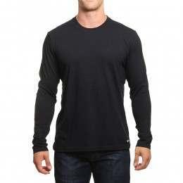 Element Basic Long Sleeve Top Flint Black