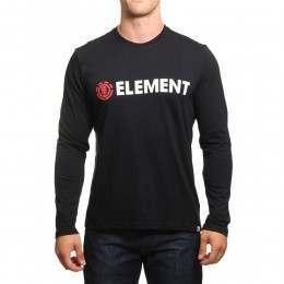 Element Blazin Long Sleeve Top Flint Black