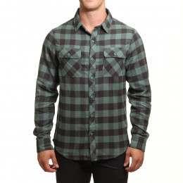 Billabong All Day Flannel Shirt Algae