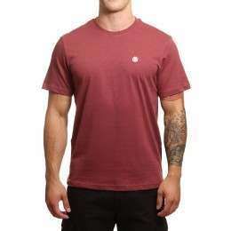 Element Crail Tee Oxblood Red