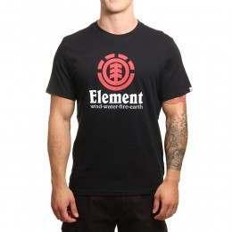 Element Vertical Tee Flint Black