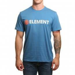 Element Blazin Tee Vallarta Blue