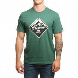 Element Route Tee Hunter Green