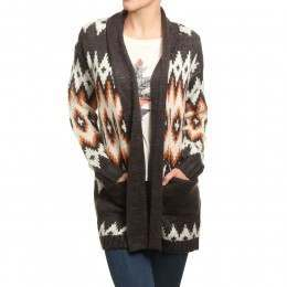 Billabong Sky Garden Cardigan Off Black