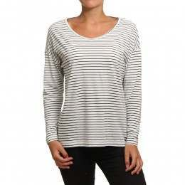 Billabong Essential Long Sleeve Top Black/White