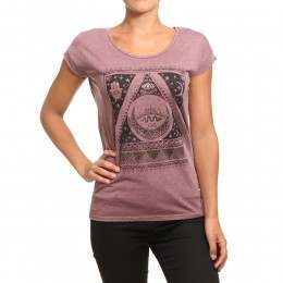 Billabong All Night Tee Mystic Maroon