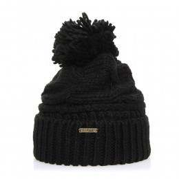 Element Feather Top Beanie Black